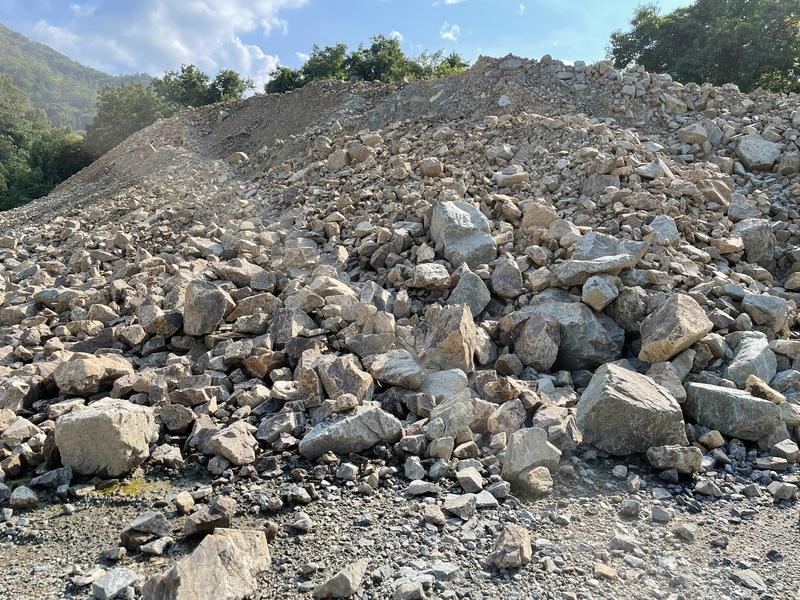 岩砕(山ズレ)
